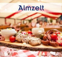 Alles aus einer Hand von Zeltverleih Freising, Almzelt, mobile Alm, Catering, Zeltausstattung, Künstler