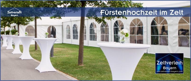 Zelte | Catering | Ausstattung | Entertainment - alles aus einer Hand für Ihre Hochzeit in Freising