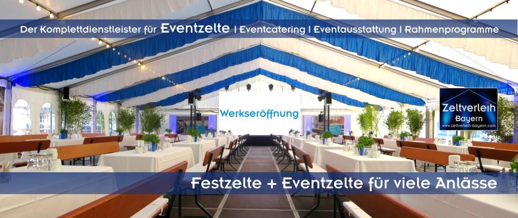 Alles aus einer Hand von Zeltverleih, Catering, Ausstattung, Dekroation, Mietmöbel, Veranstaltungstechnik, Musiker